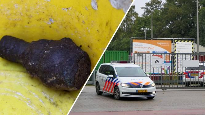 Handgranaat gevonden bij afvalbrengpunt van Twente Milieu in Enschede