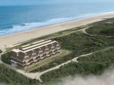 Hotel Zonneduin in Nehalenniagebied Domburg wordt lager en langer