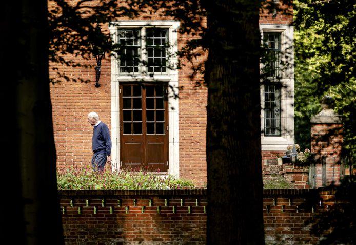 Ter illustratie: informateur Johan Remkes op landgoed De Zwaluwenberg.