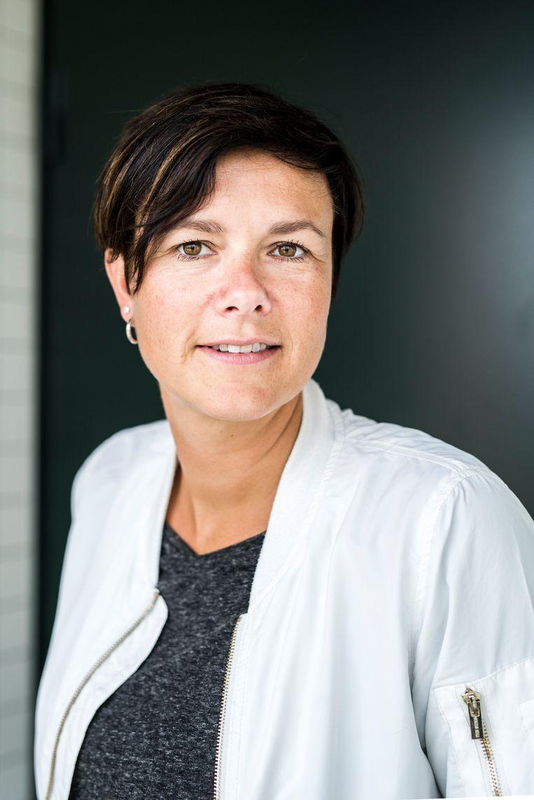 Marieke Buter, groepsbegeleider bij TBS kliniek Oostvaarder. Beeld Linelle Deunk