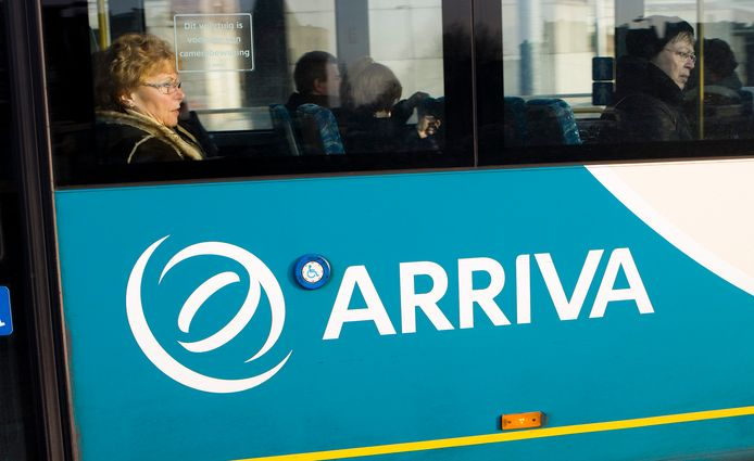 Een bus van Arriva, foto ter illustratie.