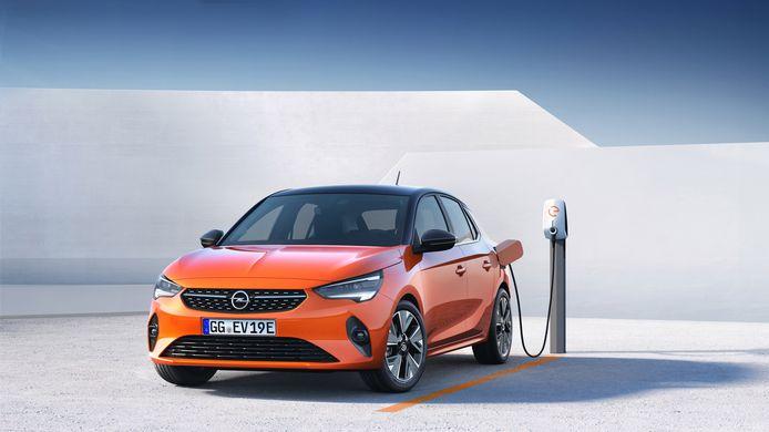 De Opel Corsa-e.