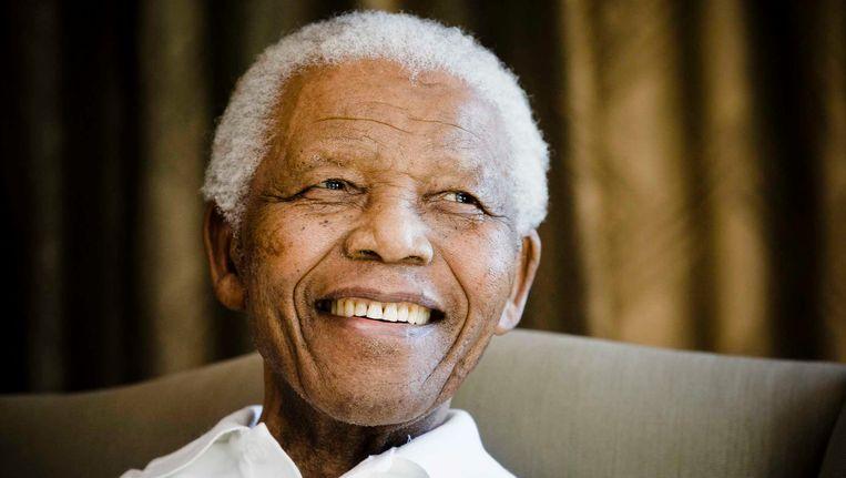 Nelson Mandela in 2009. Beeld AP