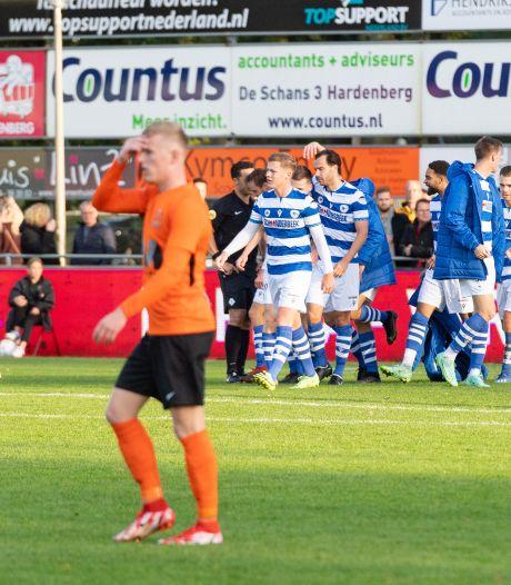HHC geeft tegen Spakenburg in sneltreinvaart een 3-0 voorsprong weg, het is bijna ongelofelijk