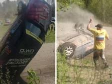 Des spectateurs échappent au pire lors d'un rallye en Russie