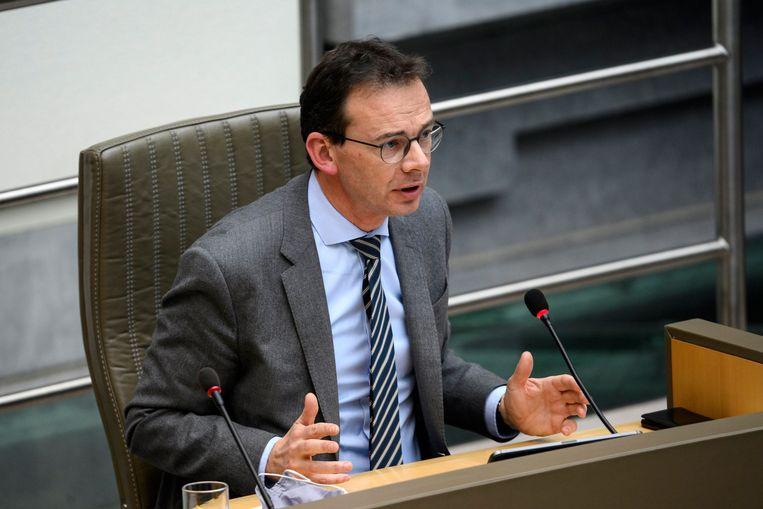 Vlaams minister van Welzijn Wouter Beke (CD&V). Beeld Photo News