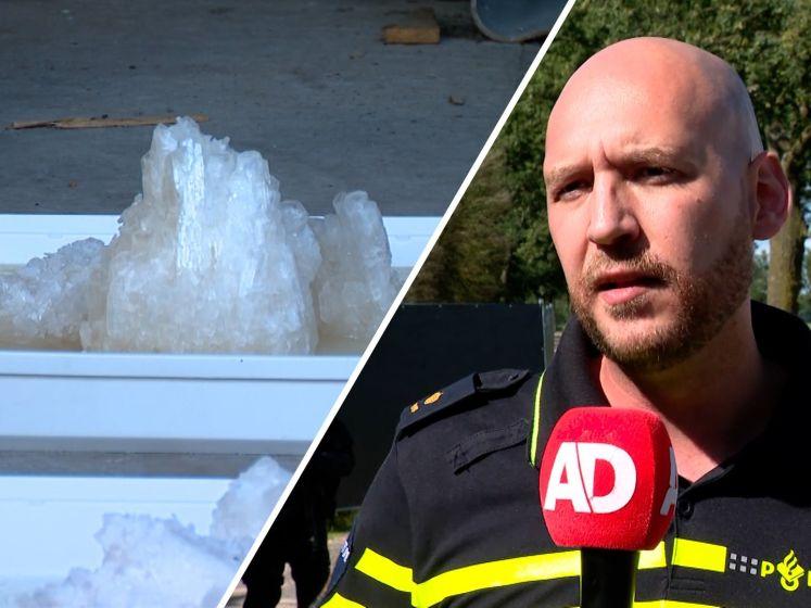 Grootste crystal methlab ooit in Nederland opgerold