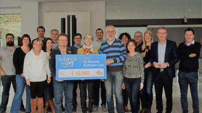 Sobinco for Life brengt 10.000 euro op voor Vlaamse Parkinson Liga