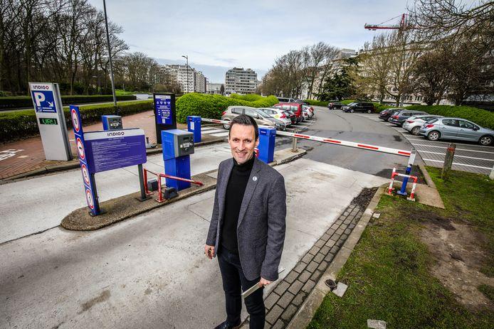 Mobiliteitsschepen Björn Anseeuw  maakt werk van een duidelijk parkeerbeleid