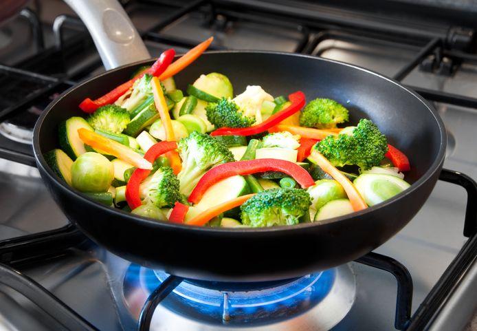 Koken op gas is minder gezond dan elektrisch koken.