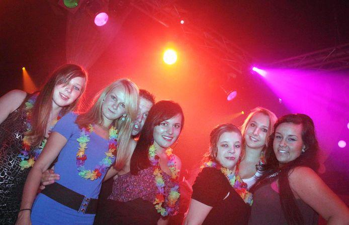 Club Rodenburg in betere tijden op een archieffoto van een Caraïbisch feest.  Foto ter illustratie.