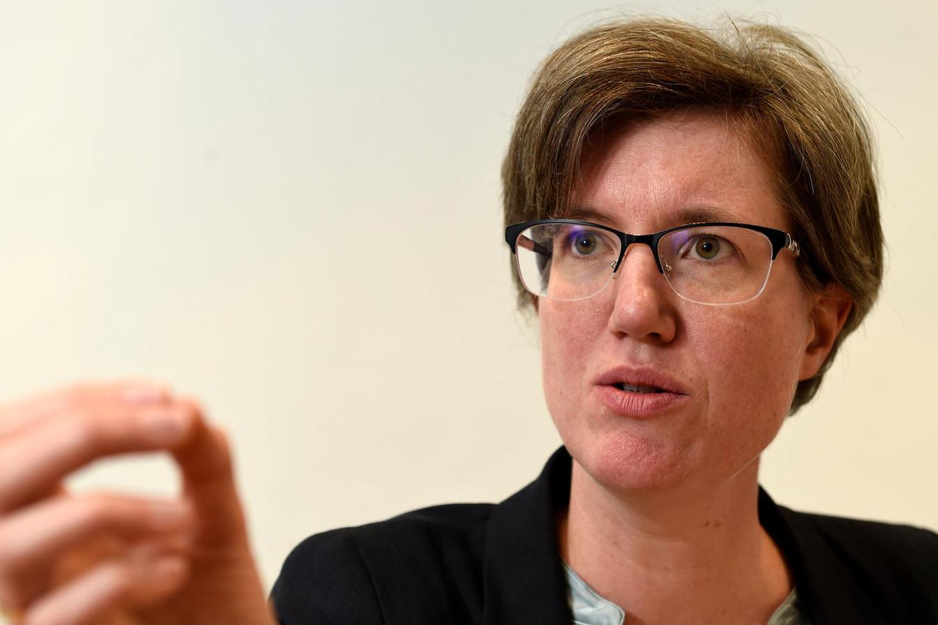Burgemeester van Molenbeek Catherine Moureaux (PS).