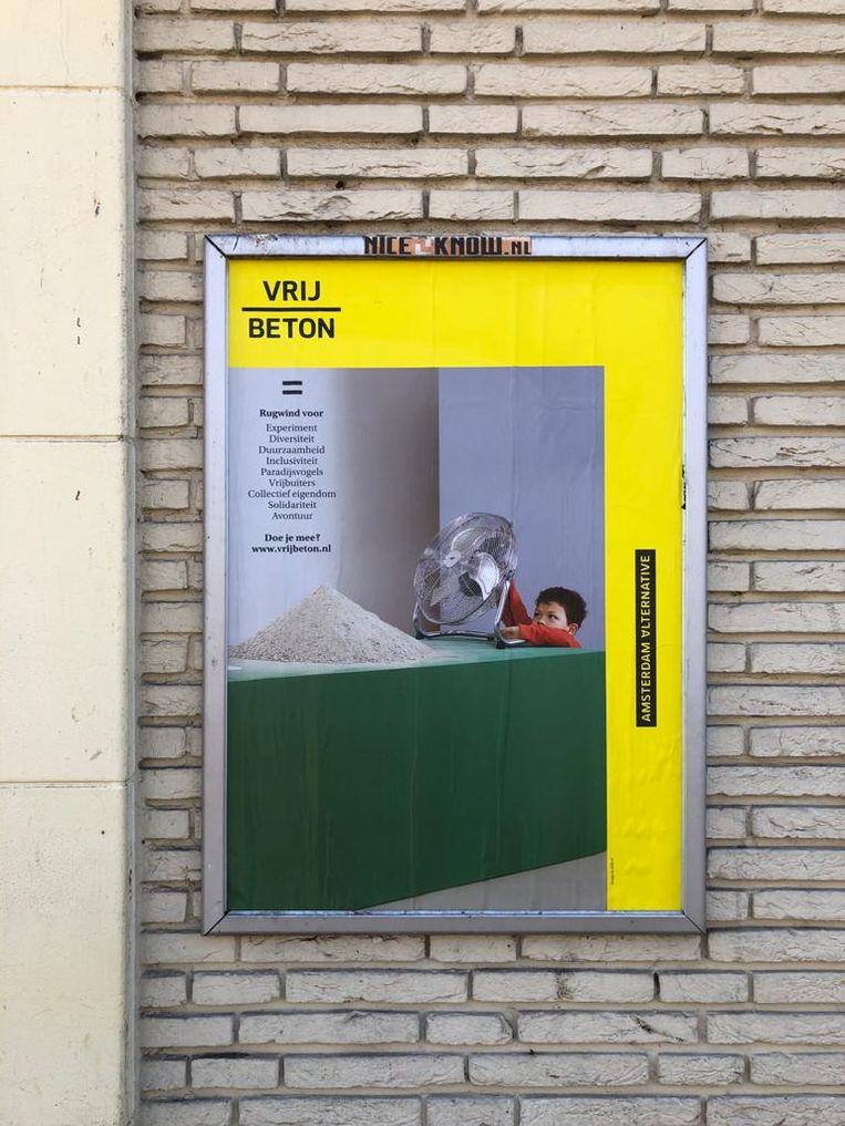 Posterpraat 24 april Beeld Jan Pieter Ekker