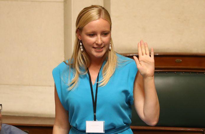 Melissa Depraetere, députée fédérale sp.a.