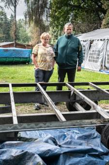 Eerst twee oliebollenkramen in brand gestoken, nu gaat een caravan in de hens op camping in Alverna