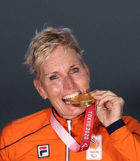 Jennette Jansen uit Westerhaar geridderd vanwege gouden medaille op Paralympische Spelen