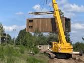 Cette société fournit des logements préfabriqués en bois de nos Ardennes aux sinistrés