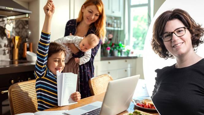 """Zo vermijd je een 'stress-tember' volgens psychologe Nina Mouton: """"Het is oké als je kind geen zin heeft om terug naar school te gaan"""""""