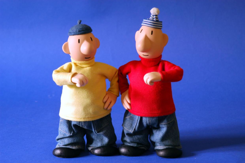 Buurman & Buurman: Pat in de gele trui, Mat in de rode.