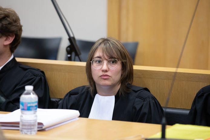 Angela Piscione, een van de advocaten van beschuldigde Brian V.G.