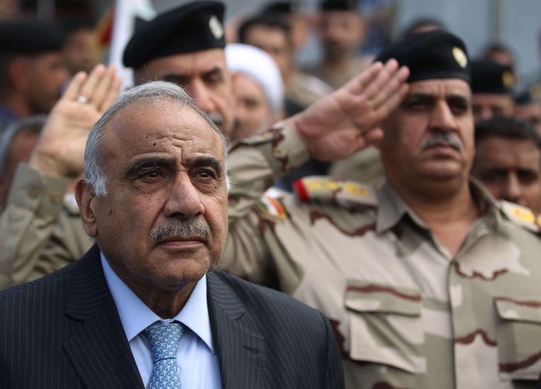 De Iraakse premier Adel Abdul Mahdi. Beeld Ahmad al-Rubaye / AFP