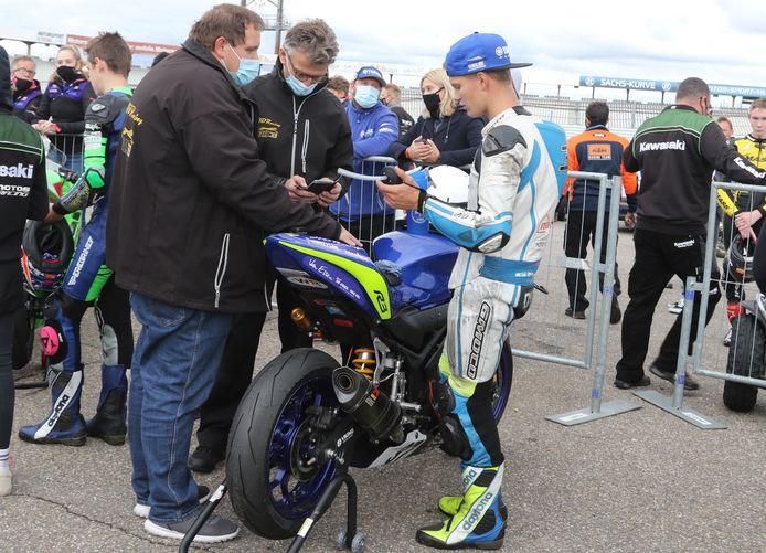 Het team rond Rick Dunnik moet afwachten of de Duitse titel van de coureur uit Staphorst echt wordt toegekend.