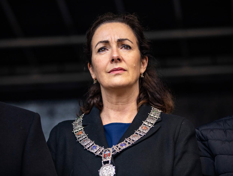 Burgemeester Femke Halsema. Beeld Michel van Bergen