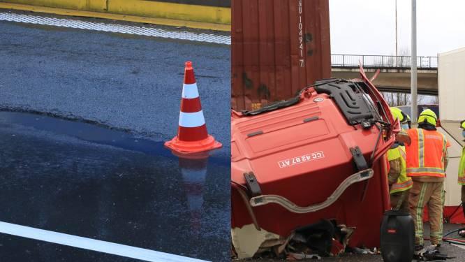 Een hele dag verkeerschaos door put in de weg: één dode en twee gewonden bij ongevallen in filestaart
