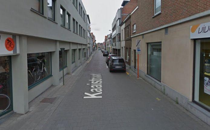 De Kaaistraat in Eeklo.