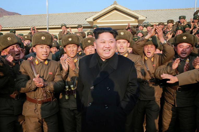 De Noord-Koreaanse dictator Kim Jong-un. Beeld REUTERS