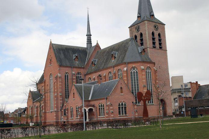 De kerk van Beerse.