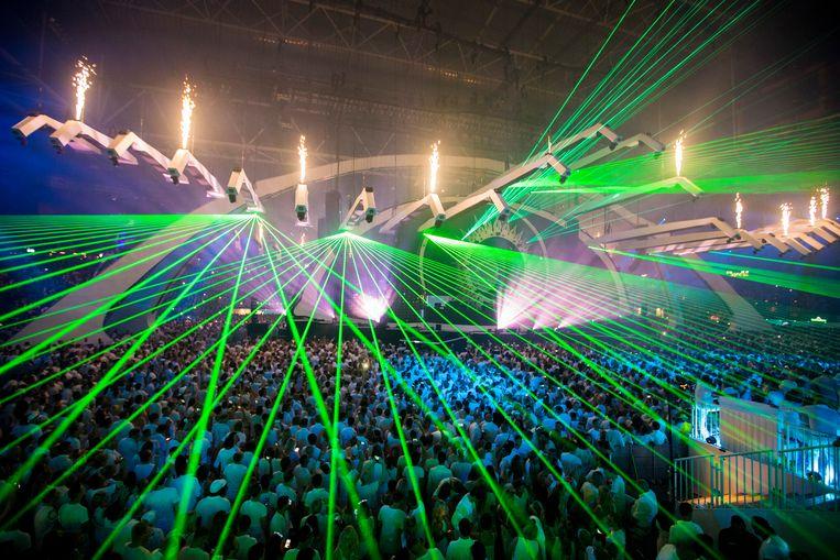 Sensation in de Johan Cruijff Arena. Beeld Michel van Bergen / ANP