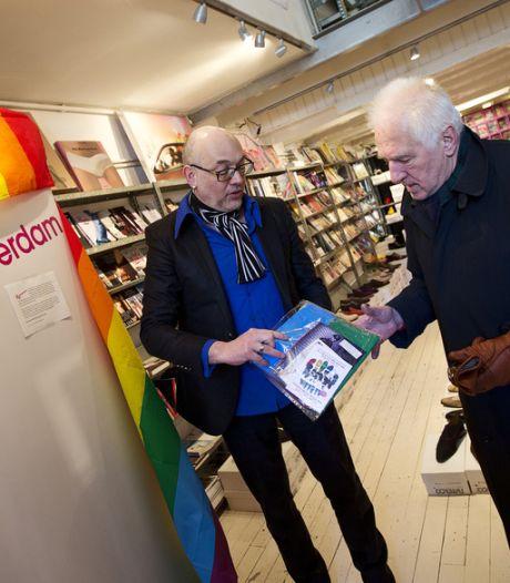 Regenboogspeld voor Rutte en Beatrix tijdens bezoek Poetin