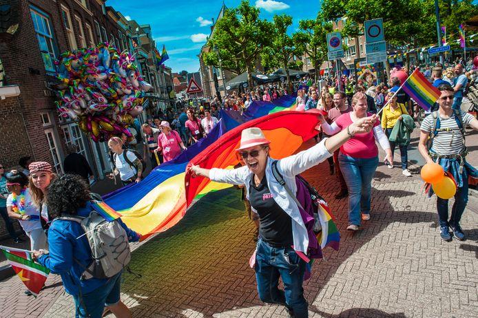 De Roze Zaterdag werd in 2018 in Gouda gehouden.