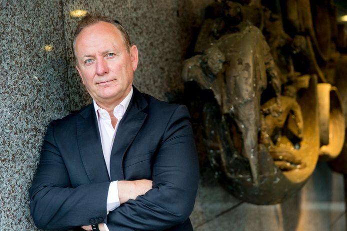 """Jan Struijs, voorzitter van de Nederlandse Politiebond: ,,Bij het aanhouden van zo'n levensgevaarlijke verdachte hoort gepast fors geweld."""""""
