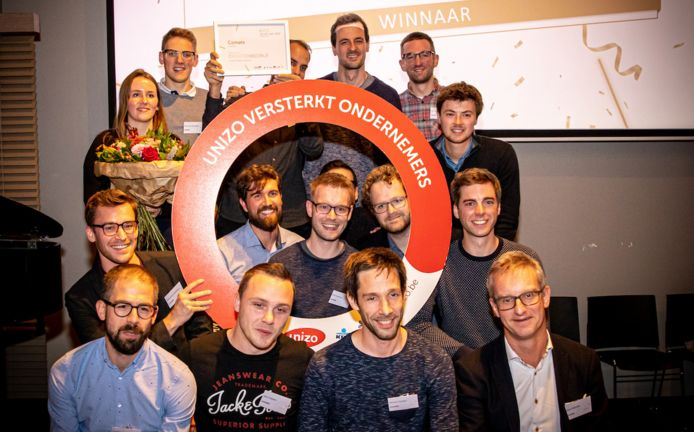 Comate uit Leuven maakt kans om KMO dienstverlener van het jaar te worden.
