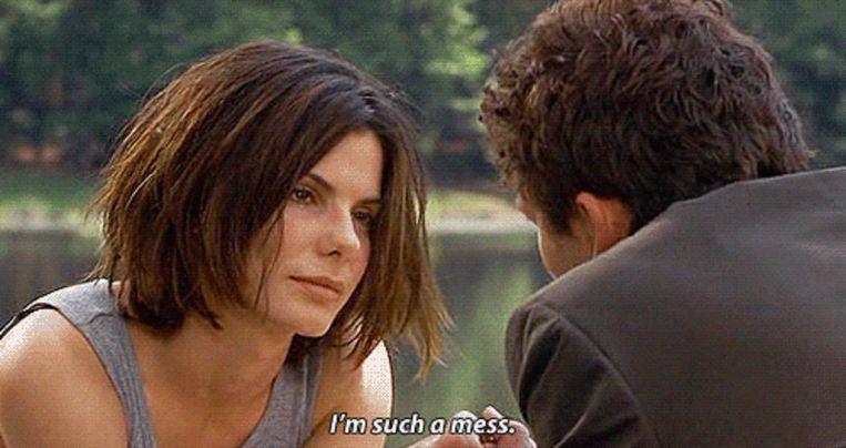 Sandra Bullock in 28 Days. Beeld
