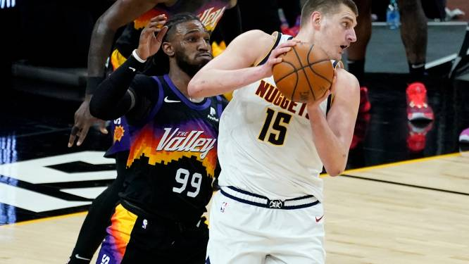 Utah en Philadelphia winnen in de play-offs, Jokic is MVP van het reguliere seizoen