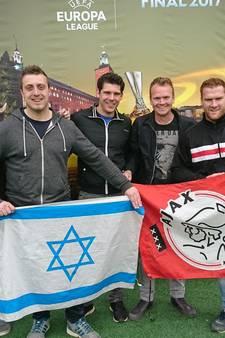 Vrienden uit Haren juichen overal Ajax toe: 'We kunnen goed nooit meer zo'n finale meemaken'