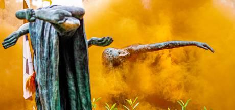 Apeldoorn deelt weer verboden uit na feest op oranjerotonde