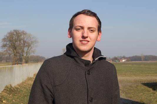 Stefan Groote Schaarsberg staat op de kieslijst voor de VVD in Olst-Wijhe.