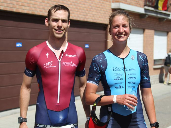 Louis Naeyaert (Sint-Kruis Brugge) bij de mannen en Julie Sap (Beernem) bij de vrouwen moesten beiden vrede nemen met een vierde plaats in de Kallemoeietriatlon van Beernem. Ze waren wel de beste West-Vlamingen.