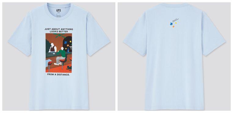 Een van de Murakami-T-shirts. Beeld RV
