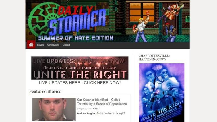 null Beeld Daily Stormer