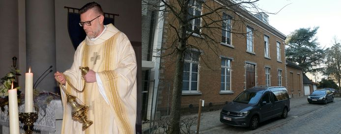 Pastoor Rudy Borremans woont vanaf 8 maart in de opgeknapte oude begijnhof pastorie.