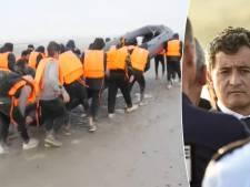 """Le ministre français de l'Intérieur: """"50% des migrants qui veulent traverser depuis Calais et Dunkerque viennent de Belgique"""""""