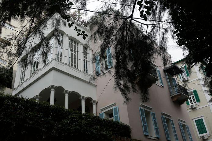 La maison de Carlos Ghosn à Beyrouth.