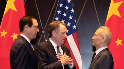 Handelsgesprekken tussen VS en China abrupt beëindigd