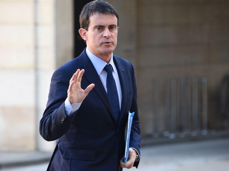 Manuel Valls. Beeld afp