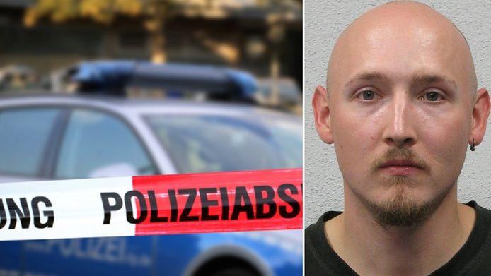 De politie is volgens Bild op zoek naar de 31-jarige Yves Rausch